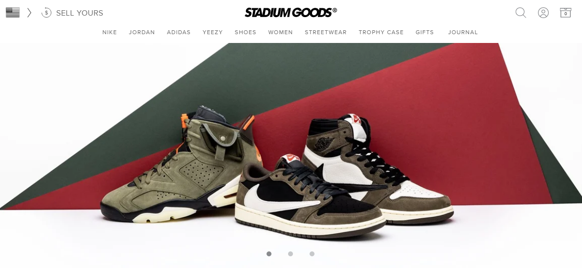 Stadium Goods - Buy Now Pay Later Stores
