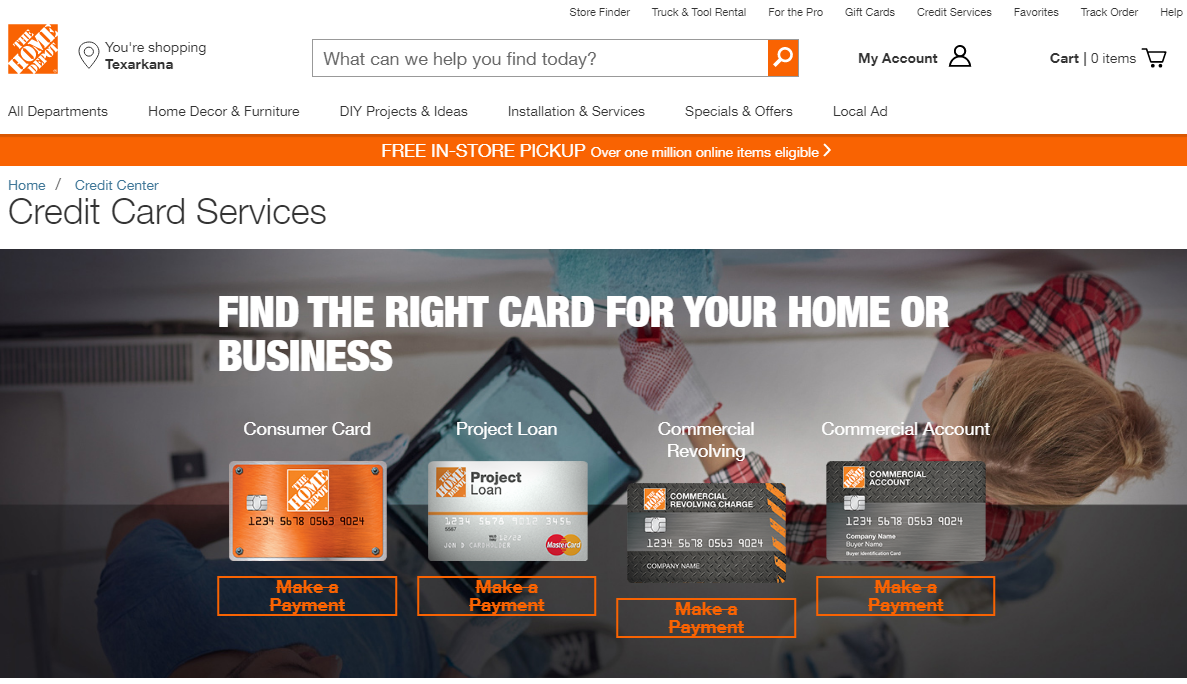 Home Depot Buy Now Pay Later Stores