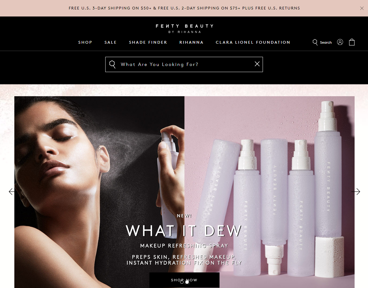 Fenty Beauty Now Pay Later S