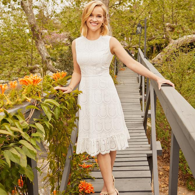 Founded by Reese Witherspoon, Draper James is classic American style, steeped in Southern charm, feminine and pretty.
