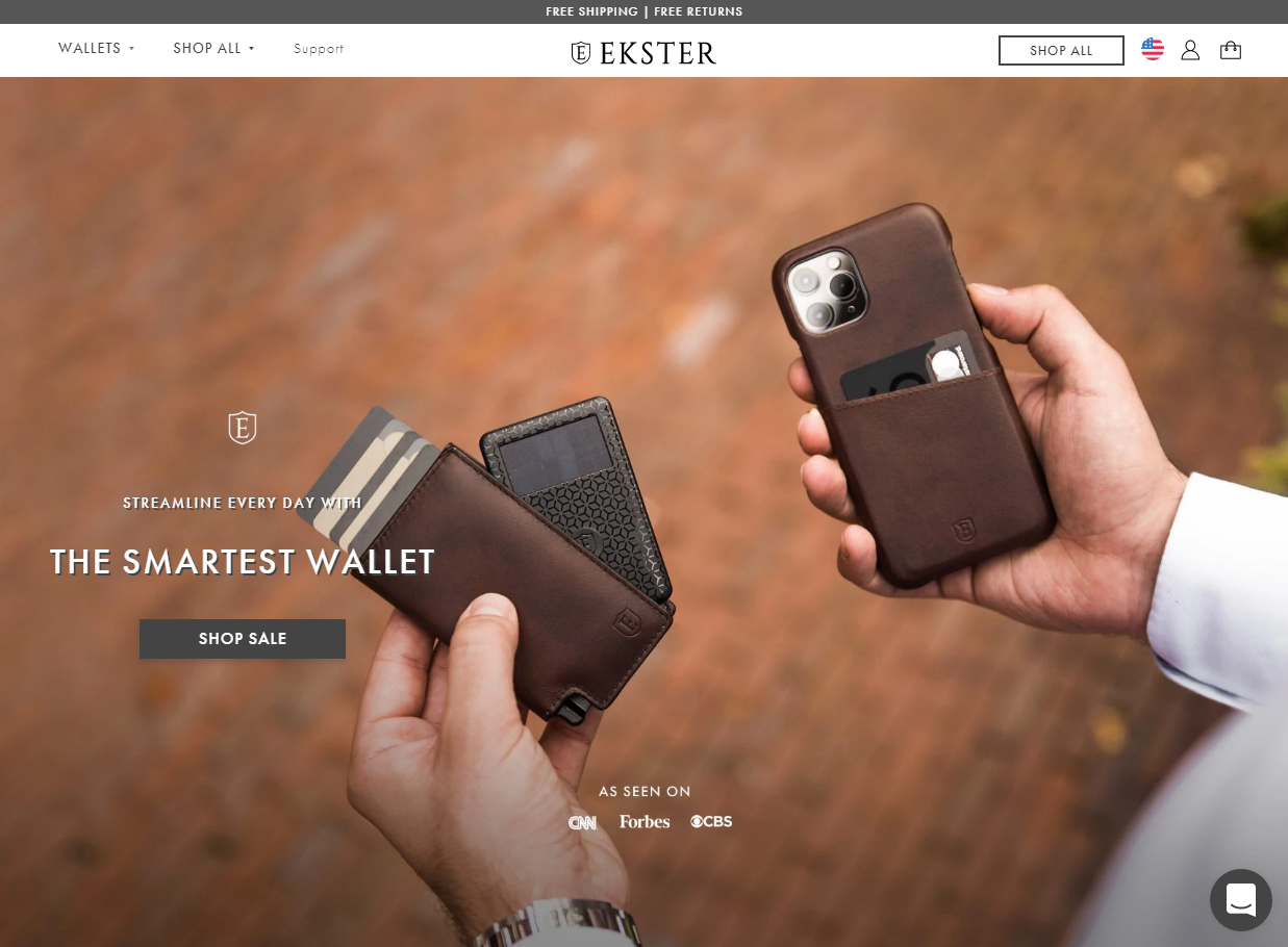 ekster website