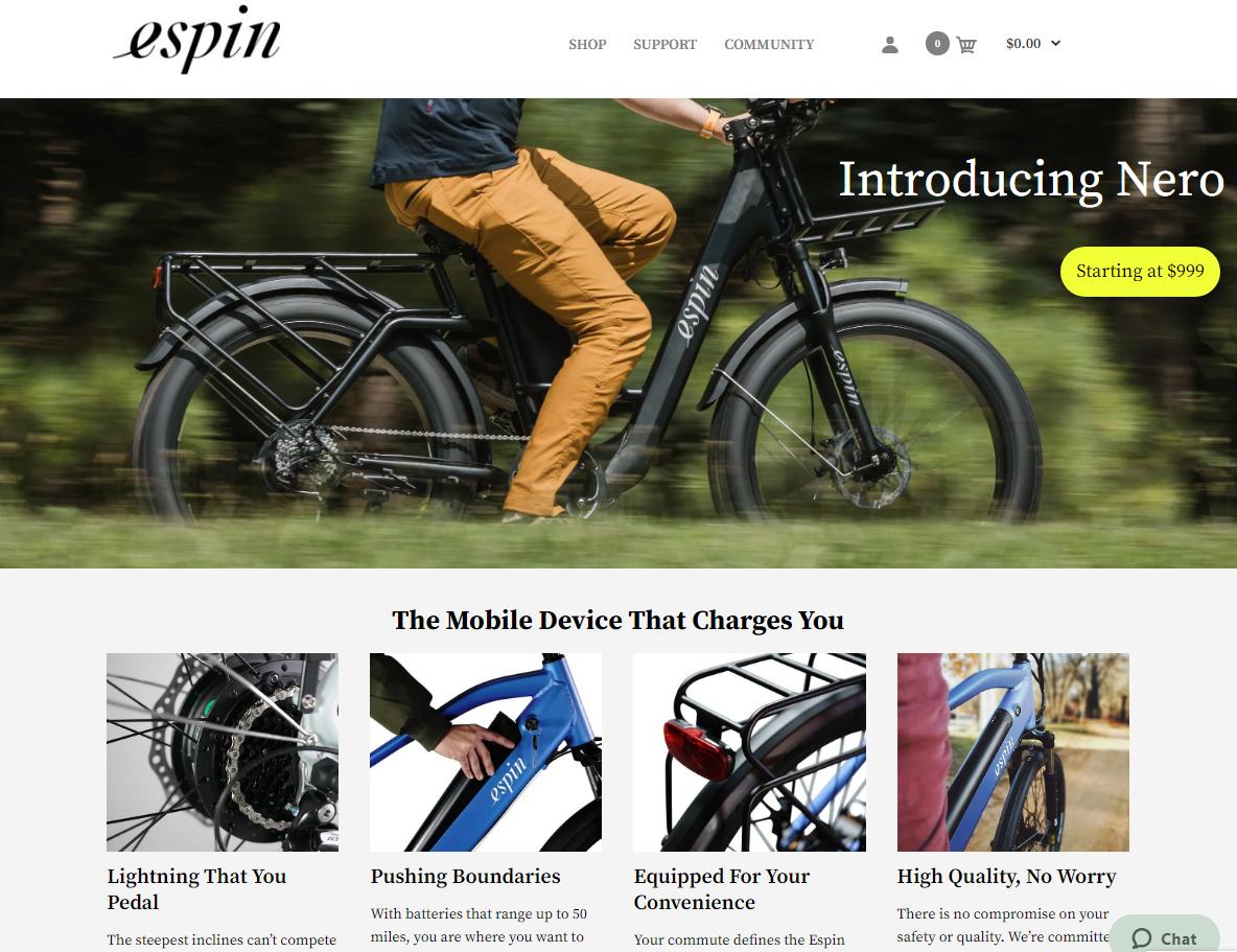 espin website
