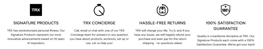 TRX Banner
