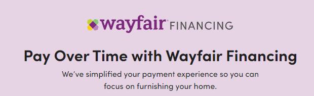 Wayfair Financing